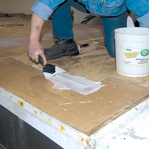 Rv Roof Sealant Contact Us Now